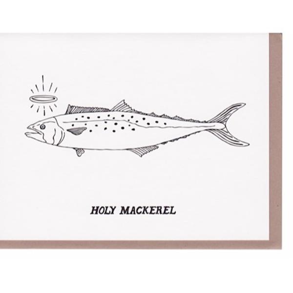 N'East Paper N'East Paper Card - Holy Mackerel