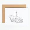 N'East Paper Card - Birthday Pie