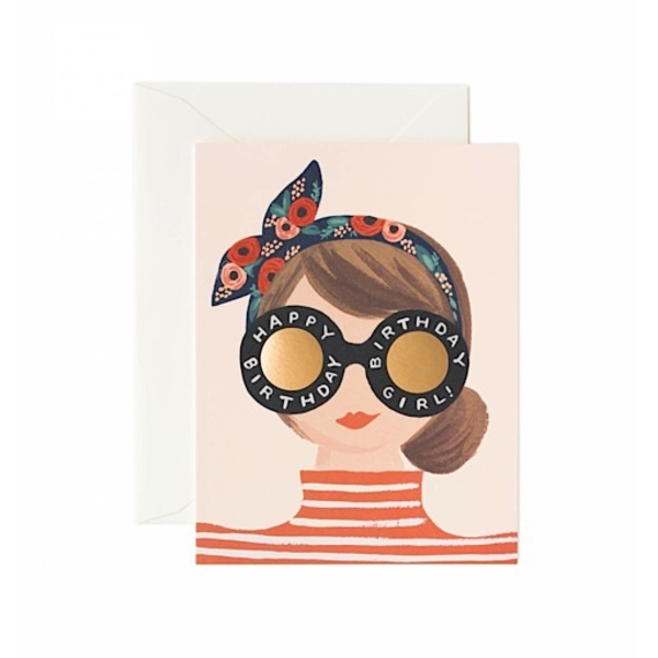 Rifle Paper Rifle Paper Co. Card - Birthday Girl Card