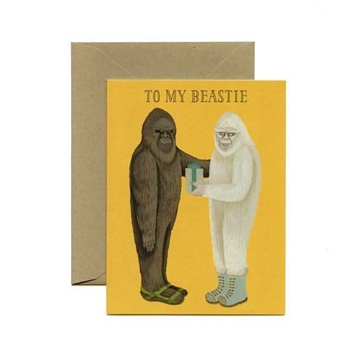 Yeppie Paper Card - To My Beastie