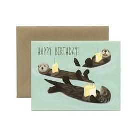 Yeppie Paper Yeppie Paper Otter Birthday Card