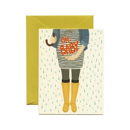 Yeppie Paper Card - Oh Baby