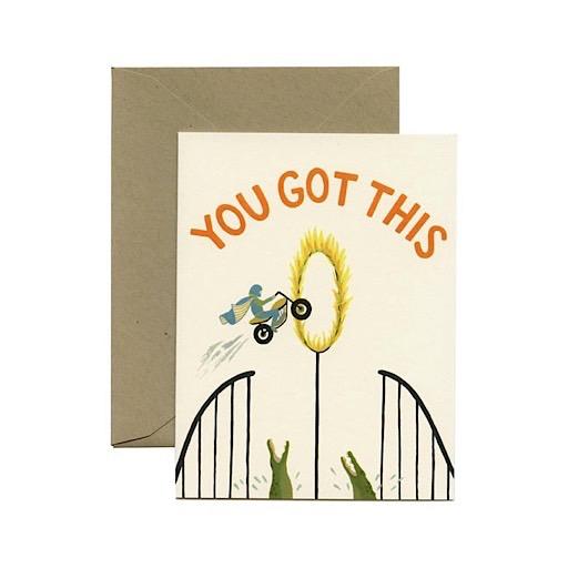 Yeppie Paper Yeppie Paper You Got This Card