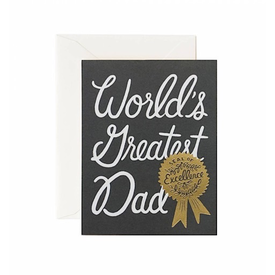 Rifle Paper Co. Rifle Paper Co. Card - World's Greatest Dad