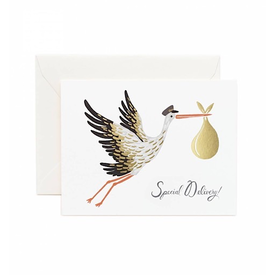 Rifle Paper Rifle Paper Co. Card - Special Delivery Stork