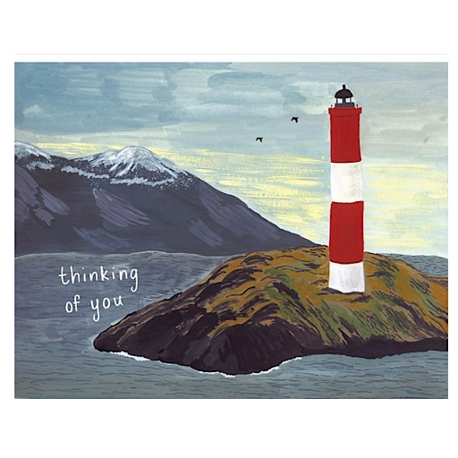 Small Adventure Small Adventure - Lighthouse Thinking of You Card