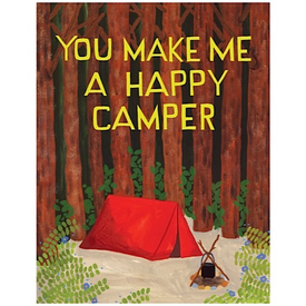 Small Adventures Small Adventure - Happy Camper Card