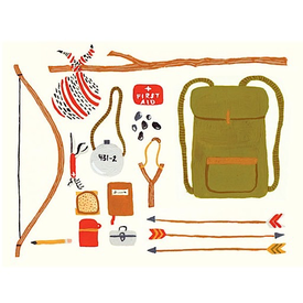 Small Adventures Small Adventure - Backpacking Card