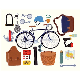 Small Adventure Small Adventure - Cycling Card