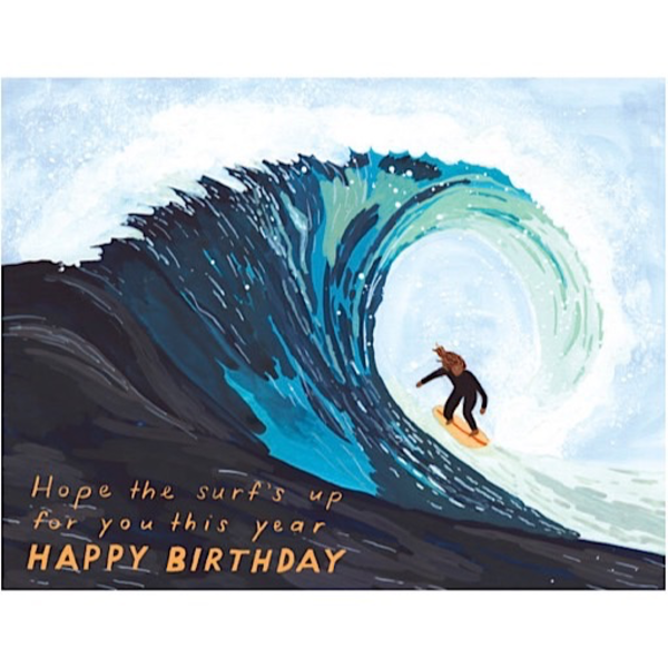 Small Adventures Small Adventure - Surf's Up Birthday Card