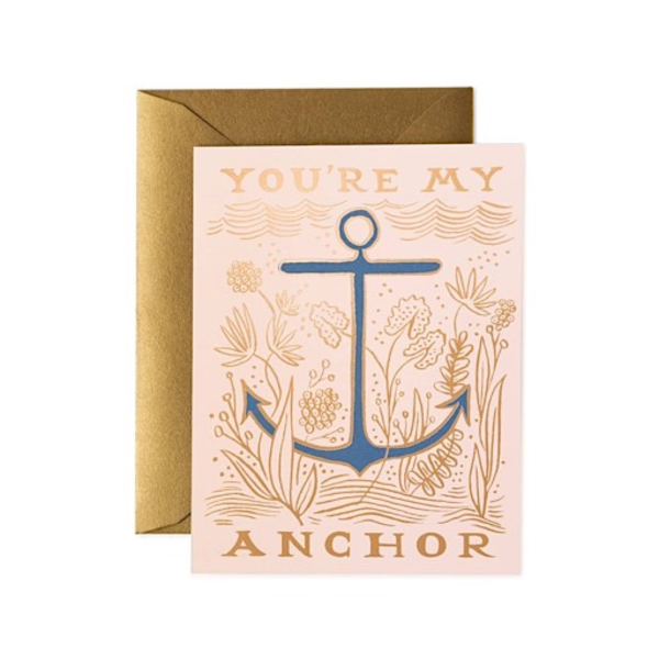 Rifle Paper Rifle Paper Co. Card - My Anchor