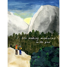 Small Adventures Small Adventure - Sunrise Hike Card