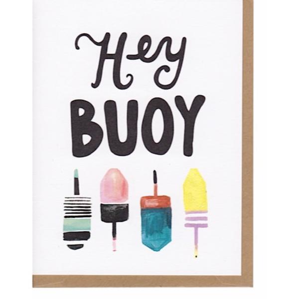 Hoopla Love Hoopla Love Hey Buoy Card