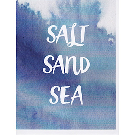 Annie Taylor Design Annie Taylor Salt Sand Sea Card