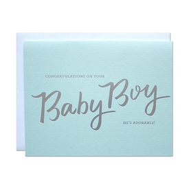 Parrott Design Parrott Design Card - Baby Boy