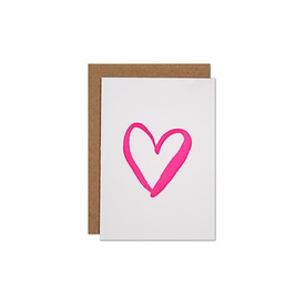 Parrott Design Studio Parrott Design Card Mini - Heart