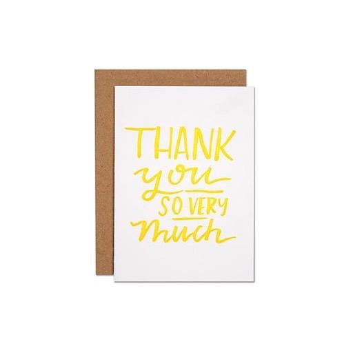 Parrott Design Card Mini - Thank You