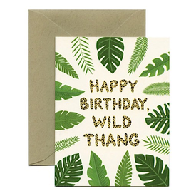 Yeppie Paper Yeppie Paper Wild Thang BIrthday Card