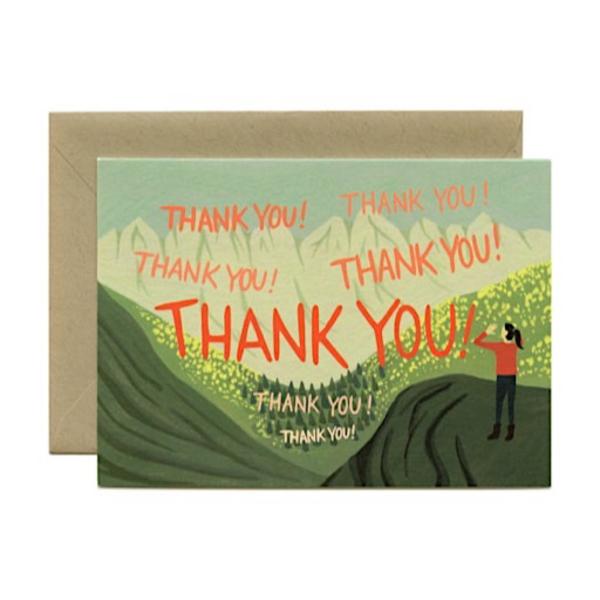 Yeppie Paper Yeppie Paper Echo Thank You Card
