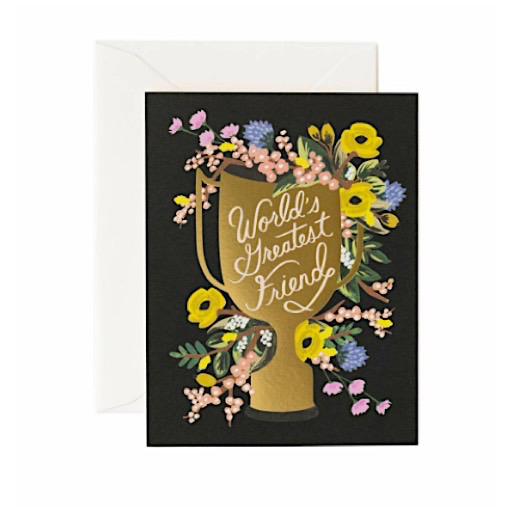 Rifle Paper Co. Rifle Paper Co. Card - World's Greatest Friend