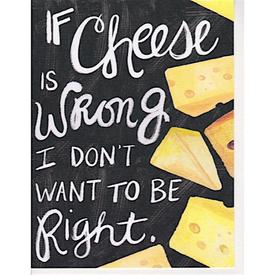Hoopla Love Hoopla Love Cheese Card