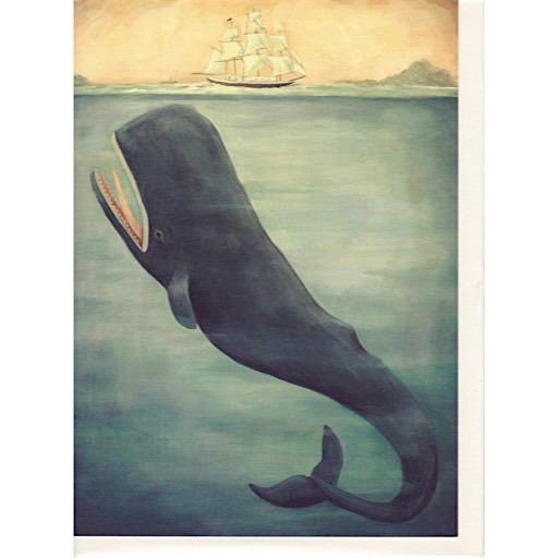 Emily Winfield Martin Card - Leviathan Below