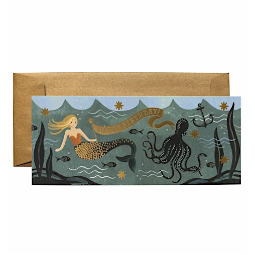 Rifle Paper Co. Rifle Paper Co. Card - Under The Sea Birthday