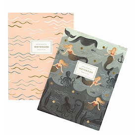 Rifle Paper Rifle Paper Co. Notebook Set - Mermaid