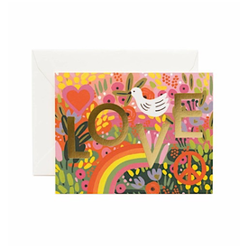 Rifle Paper Rifle Paper Co. Card - All You Need Is Love