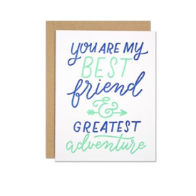 Parrott Design Studio Parrott Design Card - Best Friend Love