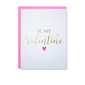 Parrott Design Studio Parrott Design Card - Be My Valentine