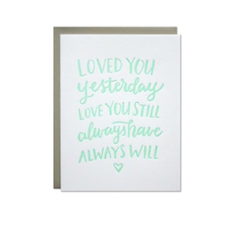 Parrott Design Studio Parrott Design Card - Love Always