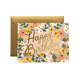 Rifle Paper Co. Rifle Paper Co. Card - Rose Birthday