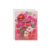Red Cap Cards Perfectly Pink Card