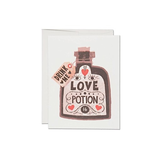 Red Cap Cards Red Cap Cards Love Potion Card