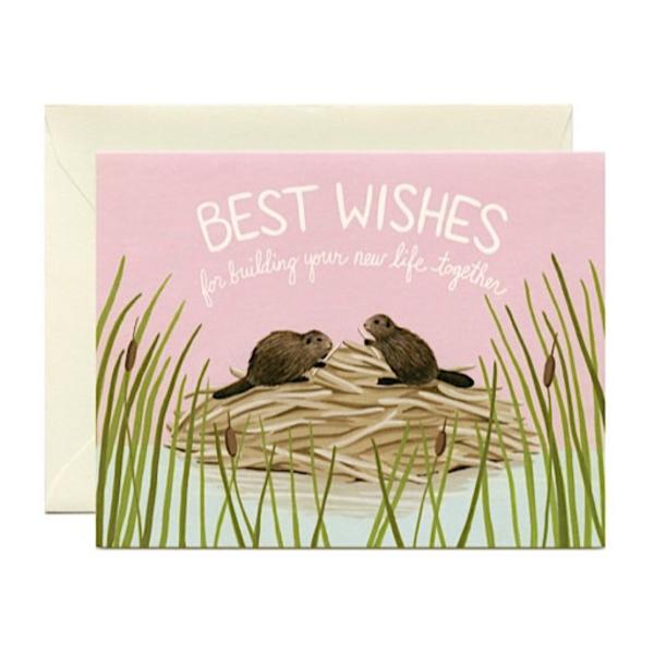 Yeppie Paper Yeppie Paper Best Wishes Card