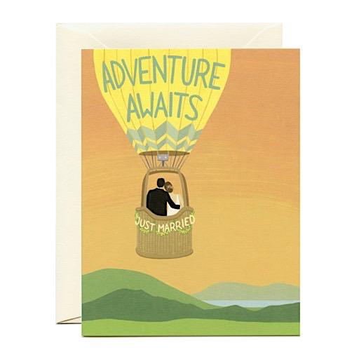 Yeppie Paper Card - Adventure Awaits