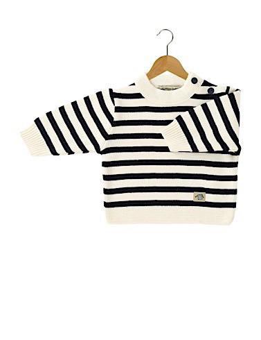Armor Lux Kid's Fouesnant Stripe Sweater