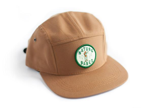 Ello There - Cap - Brown - Nature Babes Patch
