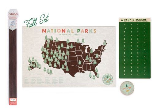 Ello There Ello There - National Park Digital Print with Stickers 11x17