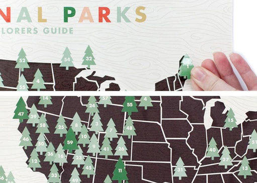 Ello There - National Park Digital Print with Stickers 11x17