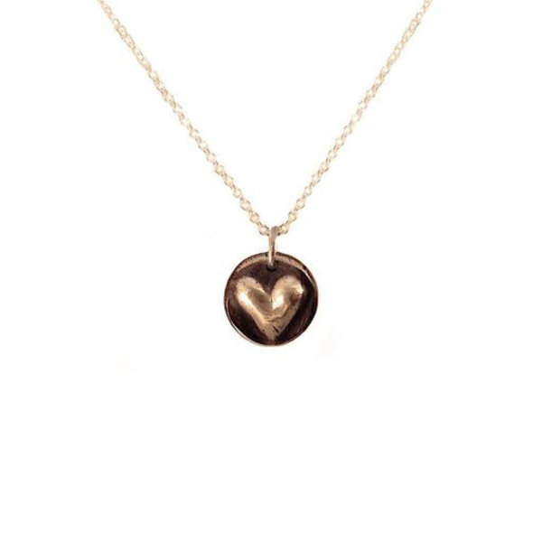 Emma Alexander Emma Alexander Heart Necklace - Bronze