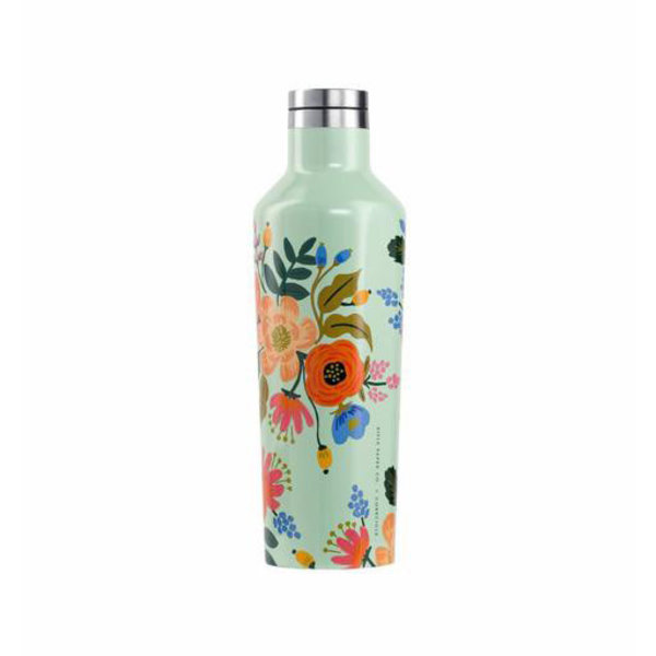 Corkcicle Corkcicle + Rifle Paper 16oz Canteen - Lively Floral