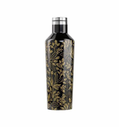 Corkcicle + Rifle Paper Canteen 16oz - Queen Anne