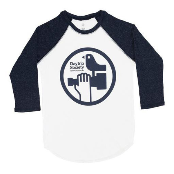 Maptote Daytrip Society Adult Baseball Tee