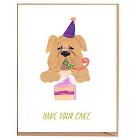 Fawn Paper Co. Fawn Paper Co. - Have Your Cake Card