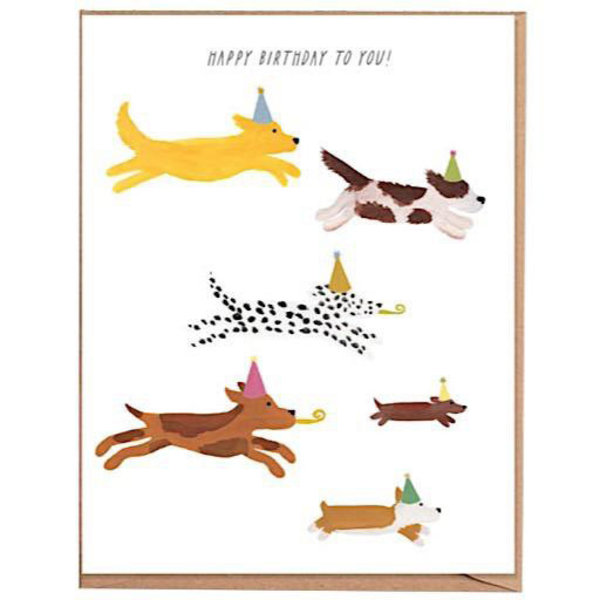 Fawn Paper Co. Fawn Paper Co. - Pups Birthday Card