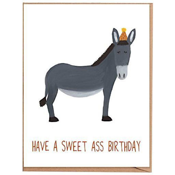 Fawn Paper Co. Fawn Paper Co. - Sweet Ass Birthday Card