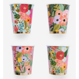 Rifle Paper Rifle Paper Co. Cups - Set of 12 - Garden Party