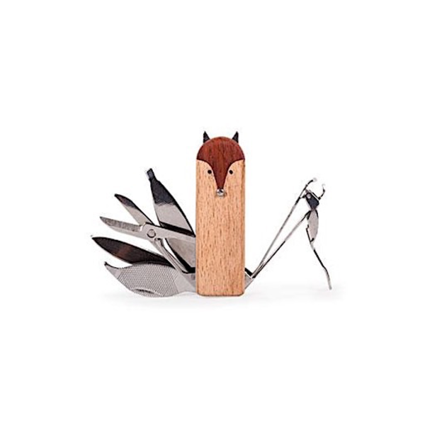 Kikkerland Fox Manicure Set